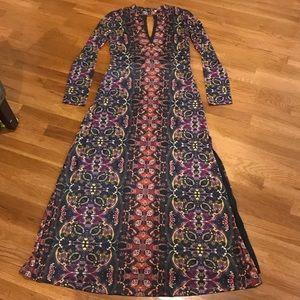 Boho Free People long sleeve dress! 👗💁🏻♀️